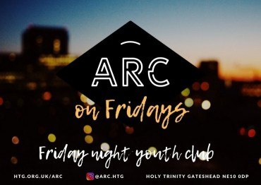 Arc on Fridays Poster A3 v20