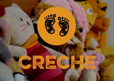 Creche logo with background