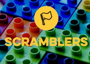 Scramblers Logo with background
